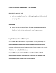 CRIM 1116 Lecture Notes - Legal Realism, Conservative Liberalism, Dialectic