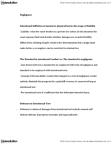 CRIM 1116 Lecture Notes - Contributory Negligence, Ginger Beer, Intentional Tort