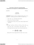 MATB24H3 Lecture Notes - Orthogonal Matrix, Symmetric Matrix, Row And Column Vectors