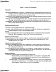 MHR 523 Chapter Notes - Chapter 7: Job Analysis, Job Rotation, Employee Engagement