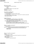 PSYC 2301 Lecture Notes - Elaboration Likelihood Model, Patient Education, Health Promotion