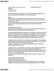PHIL 2500 Lecture Notes - Visible Minority, Job Sharing, Consumerism