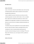 CRIM 1116 Lecture Notes - Fundamental Justice, Equal Protection Clause