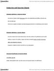 BIOL 1215 Lecture Notes - Exocrine Gland, Sebaceous Gland, Sweat Gland