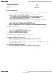 ANTHR101 Lecture Notes - Probability Distribution, Allele
