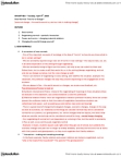 SOC 107 Lecture Notes - Worldchanging, Symbolic Interactionism, Habituation