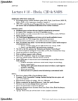 ANTC68H3 Lecture Notes - Reston Virus, Hong Kong Hotel, Case Fatality Rate