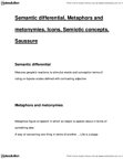 CMNS 2228 Lecture Notes - Semantic Differential, Metonymy