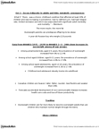 PEDS334 Lecture Notes - Energy Economics, National Health And Nutrition Examination Survey, Dyslipidemia