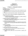 ACTG 2P40 Study Guide - Independent Contractor, Vicarious Liability, Unemployment Benefits