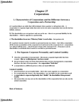 ACTG 2P40 Study Guide - Legal Personality, Chapter 27, Institute For Operations Research And The Management Sciences