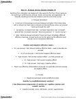 PEDS303 Lecture Notes - Autonomic Nervous System, Situation Two, The Strongest