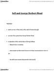 CMNS 1115 Lecture Notes - George Herbert Mead, Erving Goffman