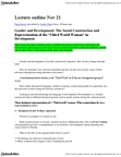 POL469H1 Lecture Notes - Eurocentrism, Soft Power, Chandra Talpade Mohanty