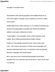 GEOG 1120 Lecture Notes - Joseph Banks, Intellectual History, Physical Geography