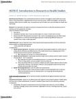 HLTB15H3 Study Guide - Heredity, Global Health, Homeostasis
