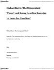 ENGL 1128 Lecture Notes - Jimmy Hamilton