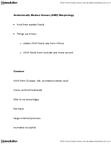 ANTH 2231 Lecture Notes - Postcrania, Homo Sapiens, Cranial Vault