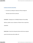 BUSM 1100 Lecture Notes - Organizational Culture