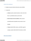 BUSM 1100 Lecture Notes - Absenteeism, Shift Work, Workplace Hazardous Materials Information System