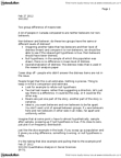 SOC202H1 Lecture Notes - Null Hypothesis, Sampling Distribution, Frequency Distribution