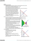 ECON 2X03 Lecture Notes - Lecture 5: Deadweight Loss, Demand Curve, Competitive Equilibrium