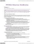PSYB45H3 Chapter Notes - Chapter 1: Applied Behavior Analysis, Karen People, Verbal Behavior