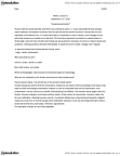 AR104 Lecture Notes - Agnosticism, Atheism, Olive Oil
