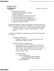 PSY210H1 Chapter Notes - Chapter 8: Stanford–Binet Intelligence Scales, Fluid And Crystallized Intelligence, Wechsler Intelligence Scale For Children