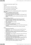WDW101Y1 Lecture Notes - Lecture 3: Enterprise Resource Planning, Performance Metric, Human Capital