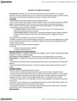 HLTB21H3 Lecture Notes - Hideyo Noguchi, Treponema Pallidum, Girolamo Fracastoro