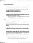 PSY318H5 Lecture Notes - Andreas Vesalius, René Descartes, Neuropsychology