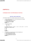 ADMS 2320 Study Guide - Final Guide: Null Hypothesis, Confidence Interval, Statistical Hypothesis Testing