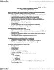 PSYCH 2H03 Lecture Notes - Radioactive Tracer, Occipital Lobe, Parietal Lobe