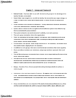 BUS 2090 Chapter Notes - Chapter 7: Group Cohesiveness, Social Loafing, Informal Sector