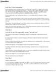 AN101 Lecture Notes - Feral Child, Stamen, Thick Description