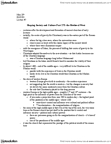 RLG203H5 Lecture Notes - Christian Culture, Infant Baptism, High Middle Ages