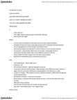 PSY396H1 Lecture Notes - Isoniazid, Knockout Mouse, Human Genome Project