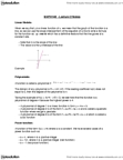 MATH 140 Lecture Notes - Lecture 2: Algebraic Function, Phenylalanine, Cubic Function