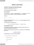 MATH 140 Lecture Notes - Lecture 13: Power Rule, Constant Function, Ion
