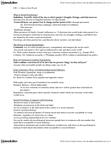 Sociology 2233 Chapter Notes -Leon Festinger, Social Cognition, Safe Sex