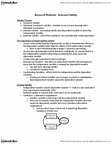 PSYC 2360 Chapter Notes -Statistical Conclusion Validity, Blind Experiment, Internal Validity