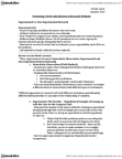 PSYC 201W Lecture Notes - Confounding, Random Assignment, Observational Error