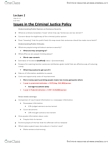 SOC219H5 Lecture Notes - Lecture 2: Parole Board Of Canada, Parole Board, Youth Criminal Justice Act