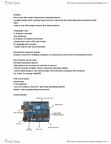 IAT 267 Lecture Notes - Lecture 5: Microcontroller, Reset Button, Atmel Avr