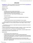 CRIM 2650 Study Guide - Final Guide: Rational Agent, Criminal Type, Social Evolution
