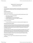 Biology 3466B Lecture Notes - Lecture 8: Molecular Genetics, Inbreeding Depression, Population Bottleneck