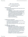 POLB81H3 Lecture Notes - Lecture 10: Climate Sensitivity, Water Vapor, Renewable Energy