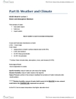 GG101 Lecture Notes - Water Balance, Energy Economics, Rain Gauge