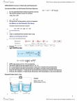 CHMB16H3 Lecture Notes - Lecture 10: Approximation Error, Equivalence Point, Hydronium